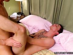 Riding large dick and enjoying great orgasm