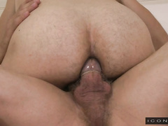 Max Sargent's big cock pounds Josh Stone in ass
