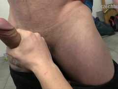 Some handsome cutie guy earns nice cash from twink stranger